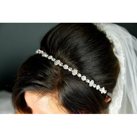 Hair  band mariée cristal